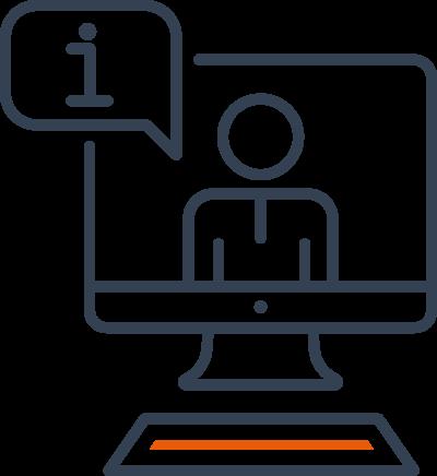 online courseware icon